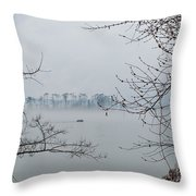 Lake Guntersville Throw Pillow