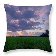 Lake Harney Sunset Throw Pillow