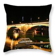 Lake Havasu Throw Pillow