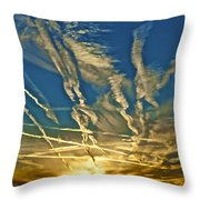Lake Havasu Sunset Throw Pillow