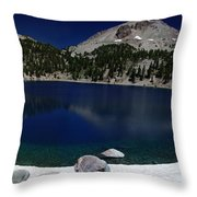Lake Helen Lassen  Throw Pillow