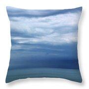 Lake Huron Colors 5 Throw Pillow