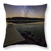 Lake Lakota Way Throw Pillow