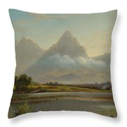 Lake Lauerz Throw Pillow