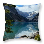 Lake Louise 2 Throw Pillow