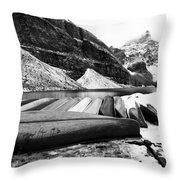 Lake Luise Throw Pillow