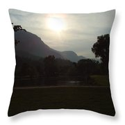 Lake Lure Throw Pillow