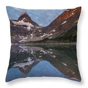 Lake Magog Throw Pillow