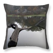 Lake Margerite Throw Pillow