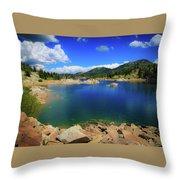 Lake Mary - Brighton Lakes Throw Pillow