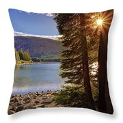 Lake Mary Forest Star Throw Pillow