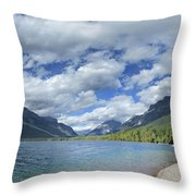 Lake Mcdonald - Glacier National Park Throw Pillow
