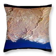 Lake Mead - Planet Art Throw Pillow
