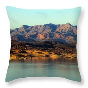 Lake Mead Before Sunset Throw Pillow