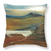Lake Mead Throw Pillow by Gregory Dallum