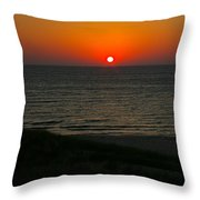 Lake Michigan Sunset Throw Pillow