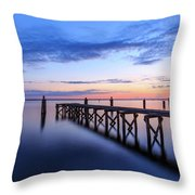 Lake Monroe At Twilight Throw Pillow
