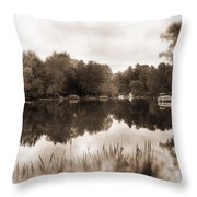 Lake Morris Throw Pillow