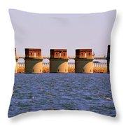 Lake Murray S C 2 Throw Pillow