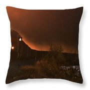 Lake Nickajack Sunset Throw Pillow