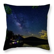Lake Of Stars Throw Pillow