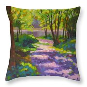 Lake Of The Hills Throw Pillow