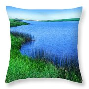 Lake Of The Shining Waters Prince Edward Island Throw Pillow