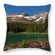 Lake O'hara, Yoho National Park Throw Pillow