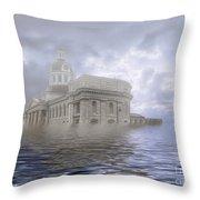 Lake Ontario 2115 Throw Pillow