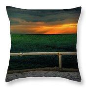 Lake Ontario Dawn Throw Pillow