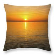Lake Ontario Sunset Throw Pillow