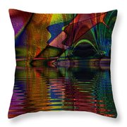 Lake Opalescence Throw Pillow