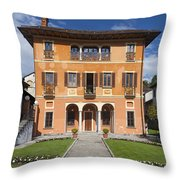 Lake Orta, Piedmont, Italy   Throw Pillow