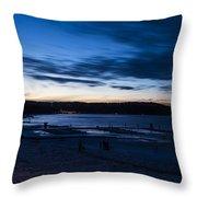 Lake Payette Throw Pillow