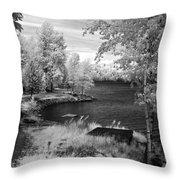 Lake Pend D'oreille Throw Pillow