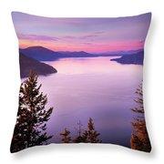 Lake Pend Oreille 2 Throw Pillow