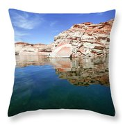 Lake Powell And The Glen Canyon Throw Pillow