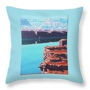 Lake Powell Overlook Throw Pillow
