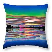 Lake Reflections 3 Throw Pillow