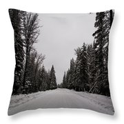 Lake Road Throw Pillow