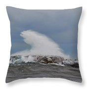 Lake Superior Beauty Throw Pillow