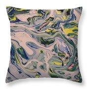 Lake Swirl 4 Throw Pillow