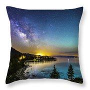 Lake Tahoe Dream Throw Pillow