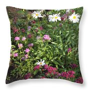 Lake Tahoe Garden Throw Pillow