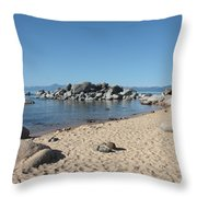 Lake Tahoe Morning Throw Pillow