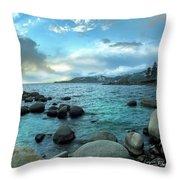 Lake Tahoe, Nevada Throw Pillow