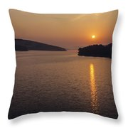 Lake Tenkiller Throw Pillow