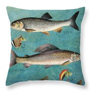 Lake Time-jp2785 Throw Pillow