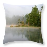Lake Umbagog Morning Light  Throw Pillow