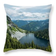 Lake Valhalla Throw Pillow